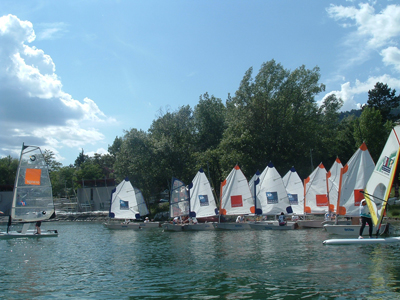 optimist grande voile embrun