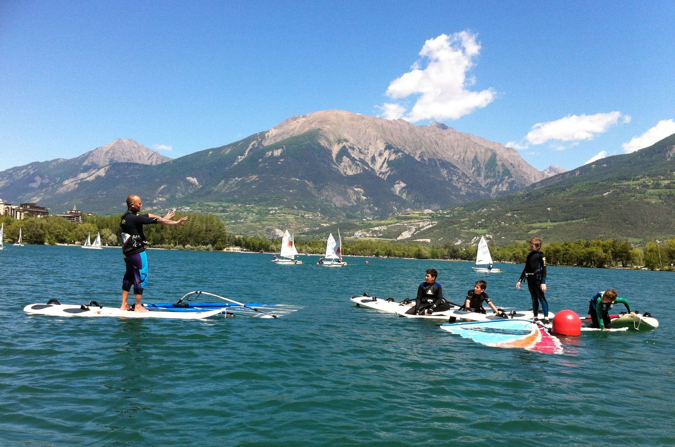 stage planche a voile Embrun